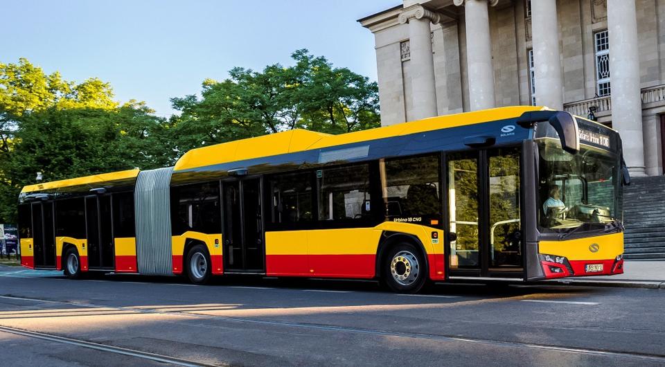 Solaris поставит в Варшаву сверхбольшие газовые автобусы