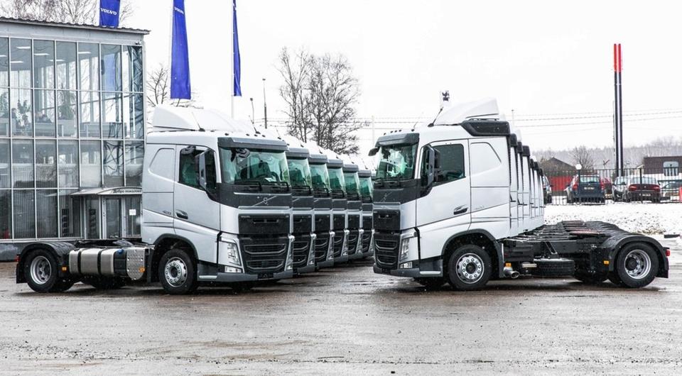 Два десятка Volvo FH для BLG Logistics