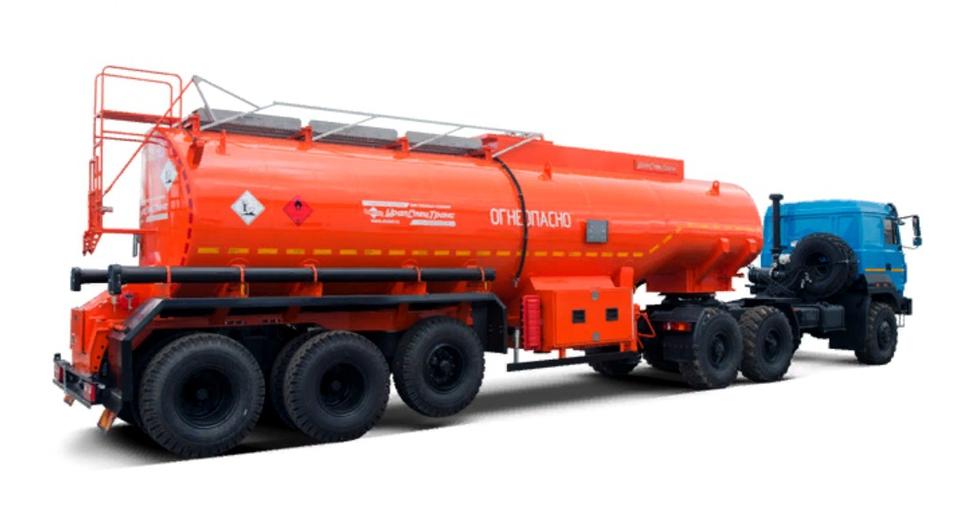 «УралСпецТранс»: 28-кубовая топливная цистерна