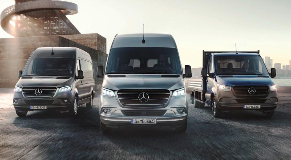 Mercedes-Benz Sprinter: плюс полтонны полной массы