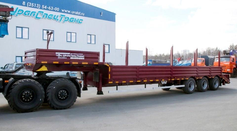 «УралСпецТранс»: трал с возможностью перевозки грузов