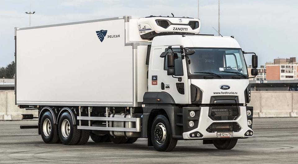 Ford Trucks 2533 HR с фургоном-рефрижератором Pelican.van