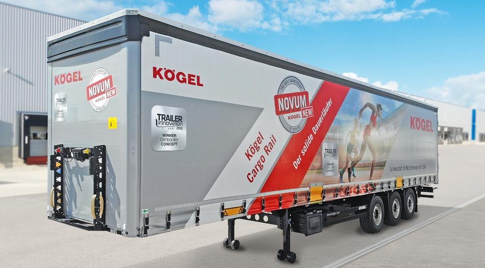 Kogel Cargo Rail: мультимодальный полуприцеп