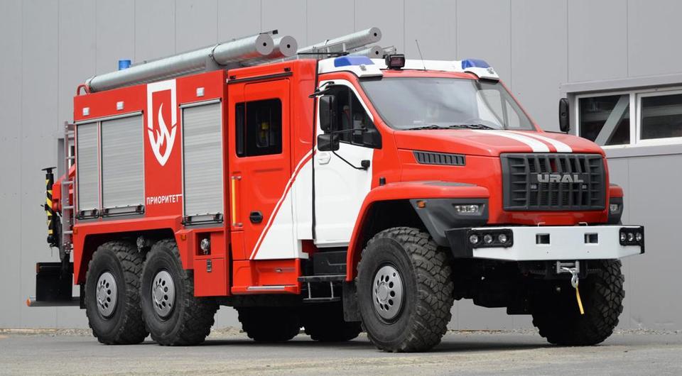 «Приоритет» сделал из «Урал NEXT» спасателя и огнеборца