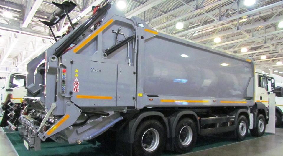 MAN и GeesinkNorba: самый большой мусоровоз