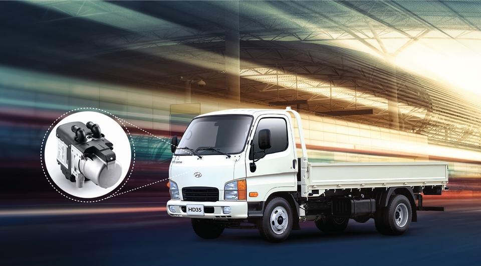 Предпусковой подогреватель для российских Hyundai HD35