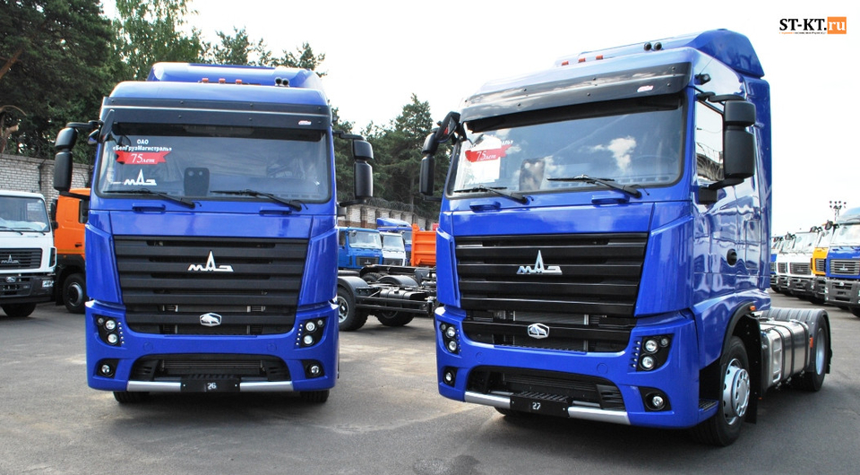 МАЗ-5440М9: перспективные тягачи переданы перевозчику
