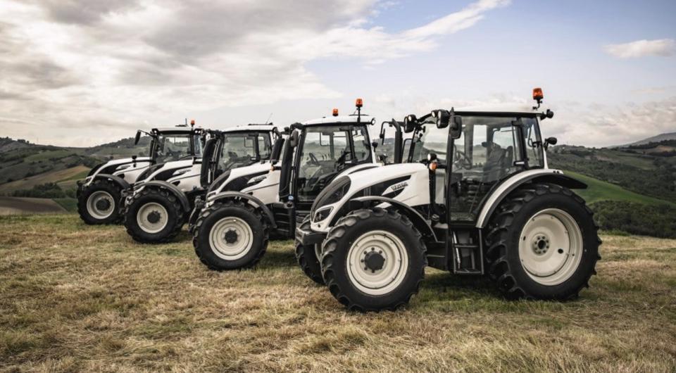 Тракторы Valtra. Цвет для России – белый