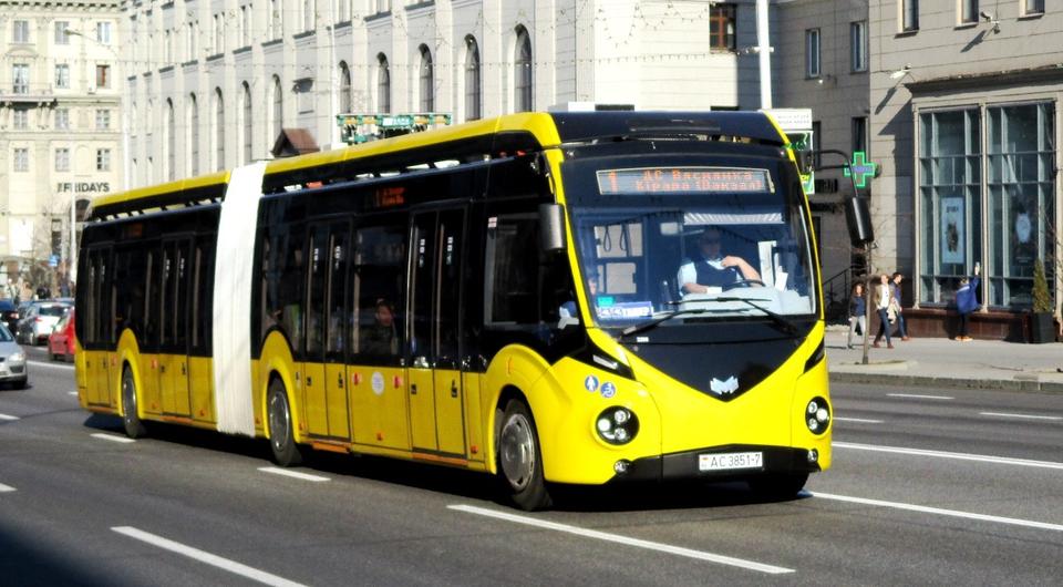 Белкоммунмаш: 60 электробусов поставлены в Минск