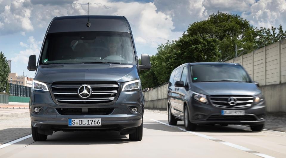 Mercedes-Benz Vino и Sprinter: оптимальные комплектации