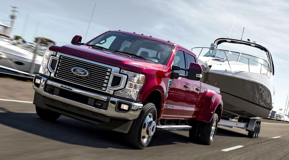 Ford Super Duty въезжает в 2020 год