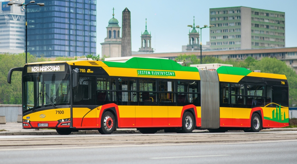 Solaris: Варшава получит 130 сверхбольших электробусов