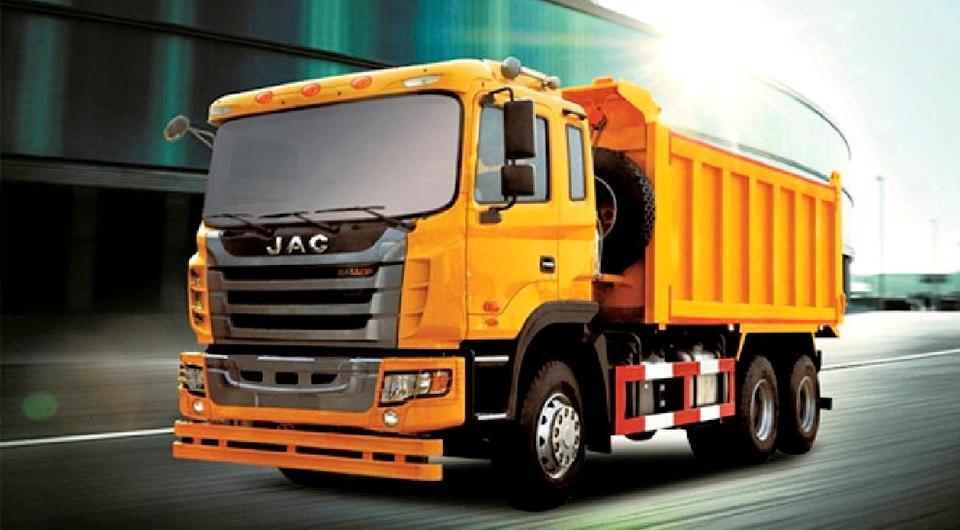 JAC Motors выведет на российский рынок тяжелый самосвал