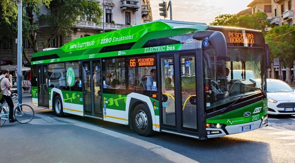 Милан закупит 250 электробусов Solaris