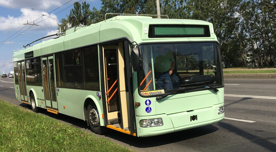 Сотня троллейбусов «Белкоммунмаш» для Душанбе