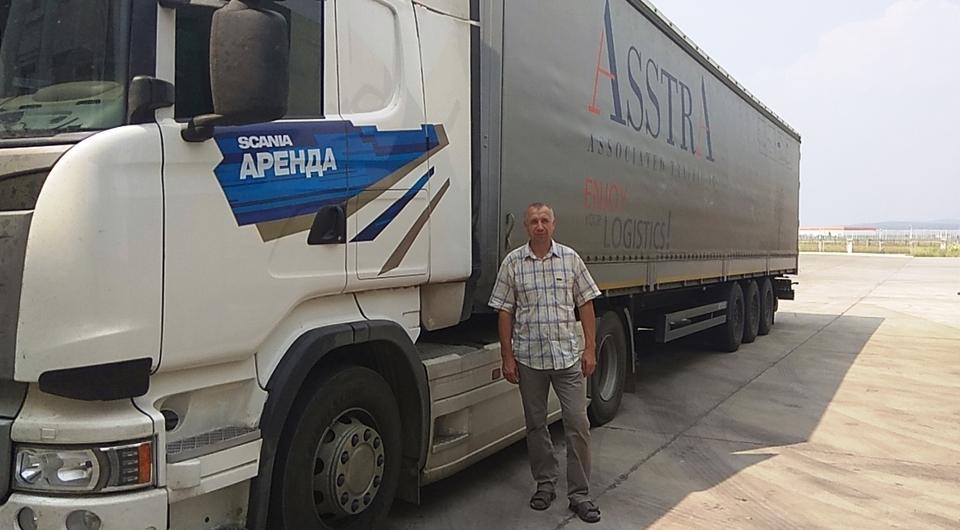 Компания AsstrA: первая автоперевозка Россия - Китай