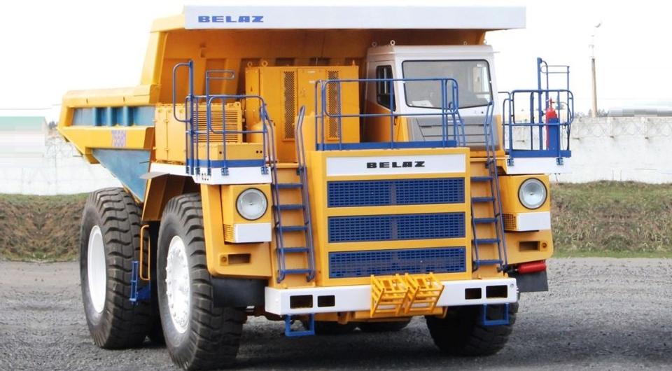 БЕЛАЗ-7558F: идут испытания новой модификации 90-тонника
