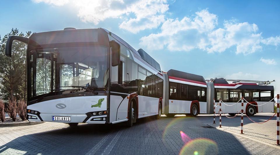 Solaris разработал 24-метровый троллейбус