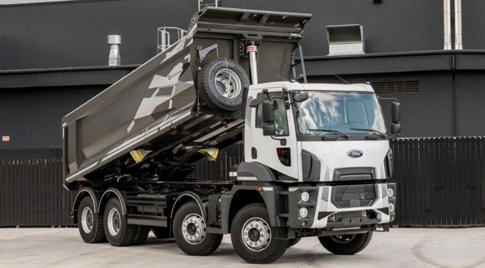 Ford Trucks: самосвалы с кузовами Grunwald