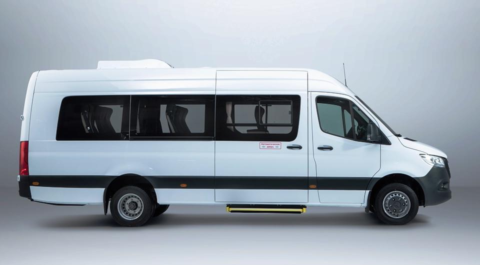 Mercedes-Benz Sprinter: пассажирский вариант доступен для заказа