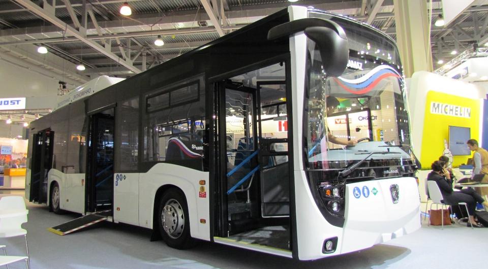 Газовые нефтекамские автобусы для «Башавтотранс»