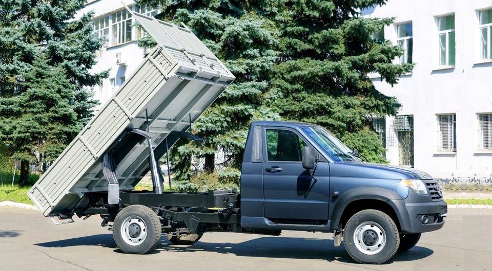 «Авто-Фургон» превратил «УАЗ Карго» в самосвал