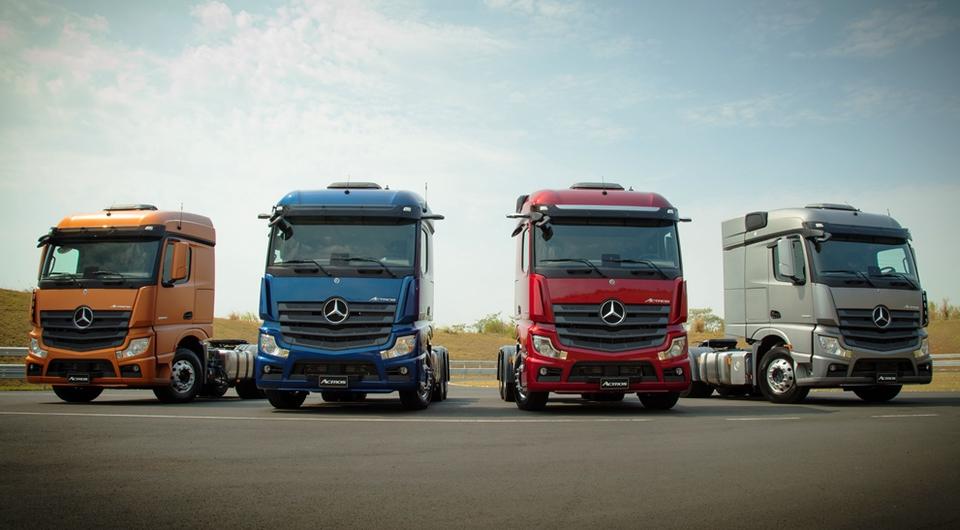 Бразильский Mercedes-Benz Actros: время модернизации