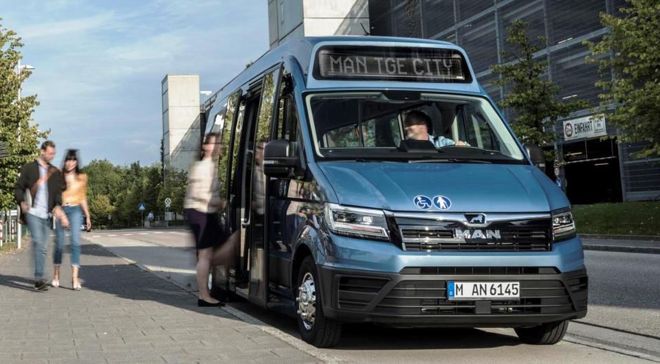 Расширяется линейка микроавтобусов MAN TGE