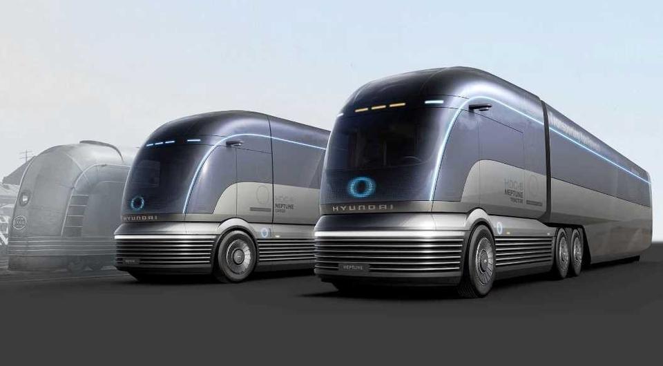 Hyundai HDC-6 Neptune: дебют водородного тягача
