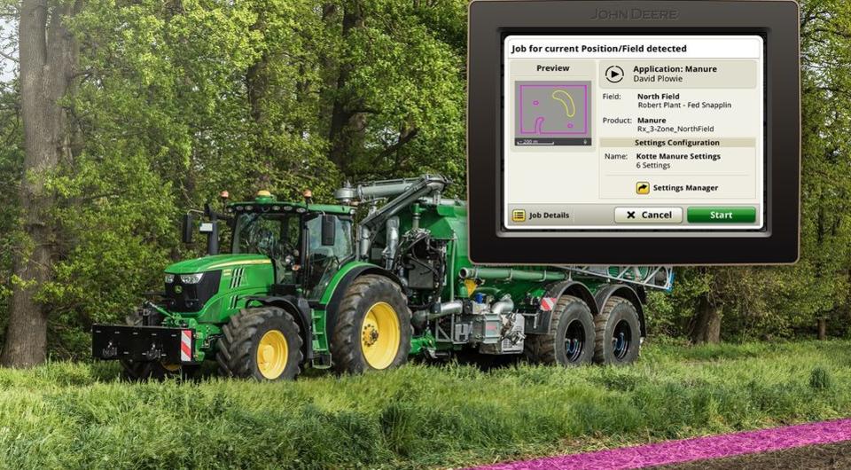 John Deere: система дистанционного управления AutoSetup