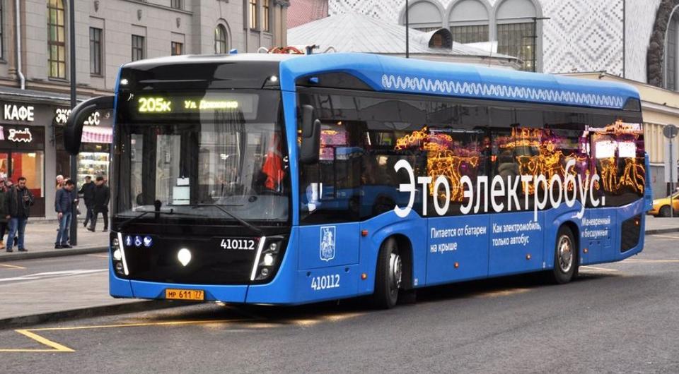Электробусы КАМАЗ: новый московский маршрут