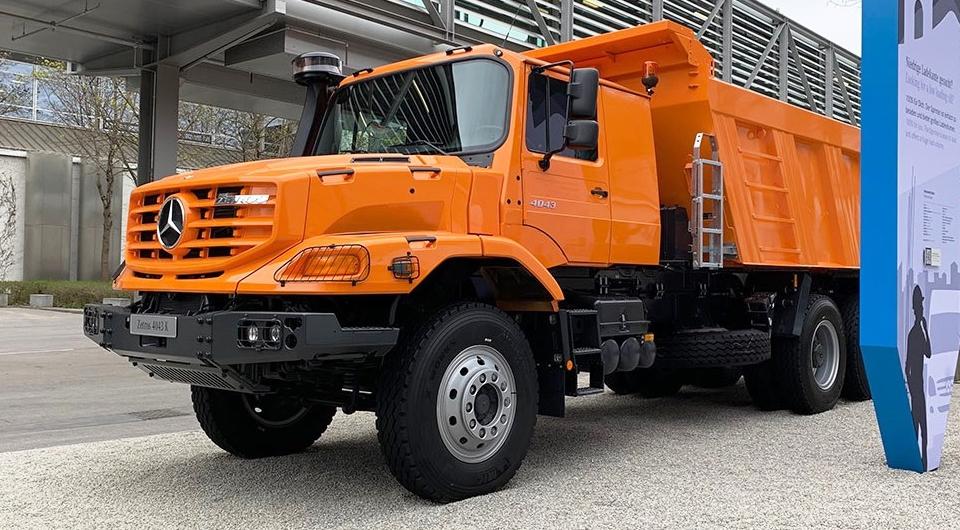 Mercedes-Benz Zetros: из армейцев в строители