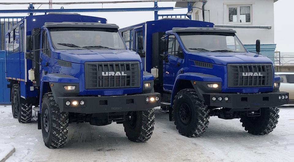 Газовые вахтовки «Урал NEXT» для «Газпром трансгаз Ухта»