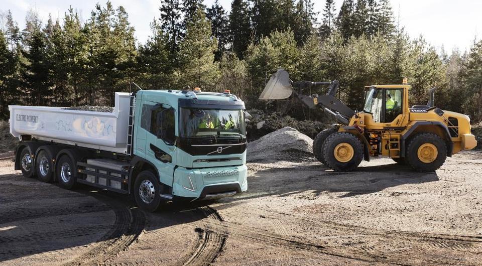 Volvo Trucks. Новые электрические грузовики