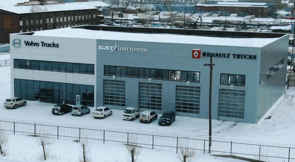 БайкалАвтоТрак: сервис Volvo Trucks в Братске