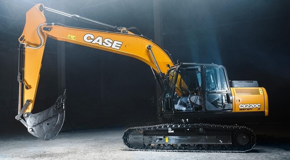 Экскаватор CASE СХ220С LC-HD. Усиление и защита
