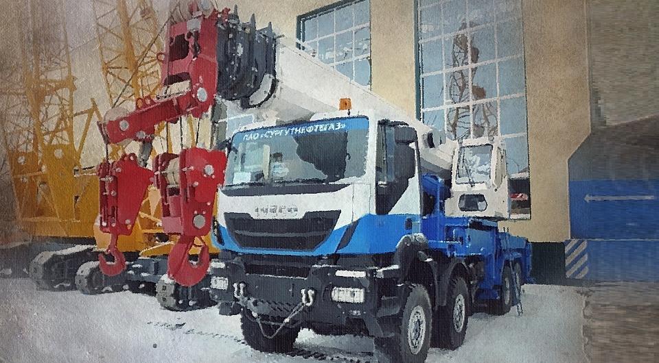 Представлен 60-тонный автокран «Челябинец»
