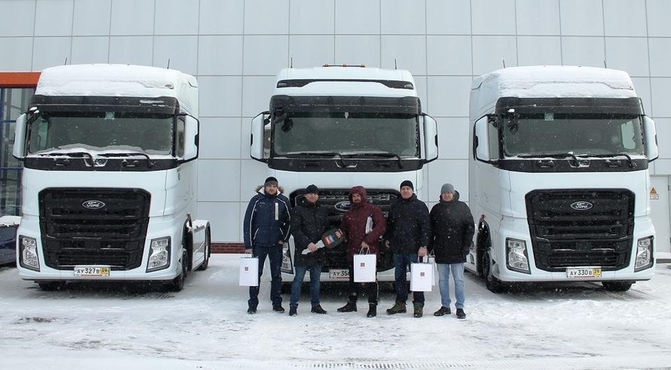 Сотый Ford Trucks F-MAX поставлен в Россию