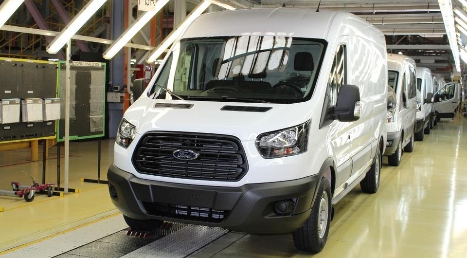 Ford Transit: локализация продолжается