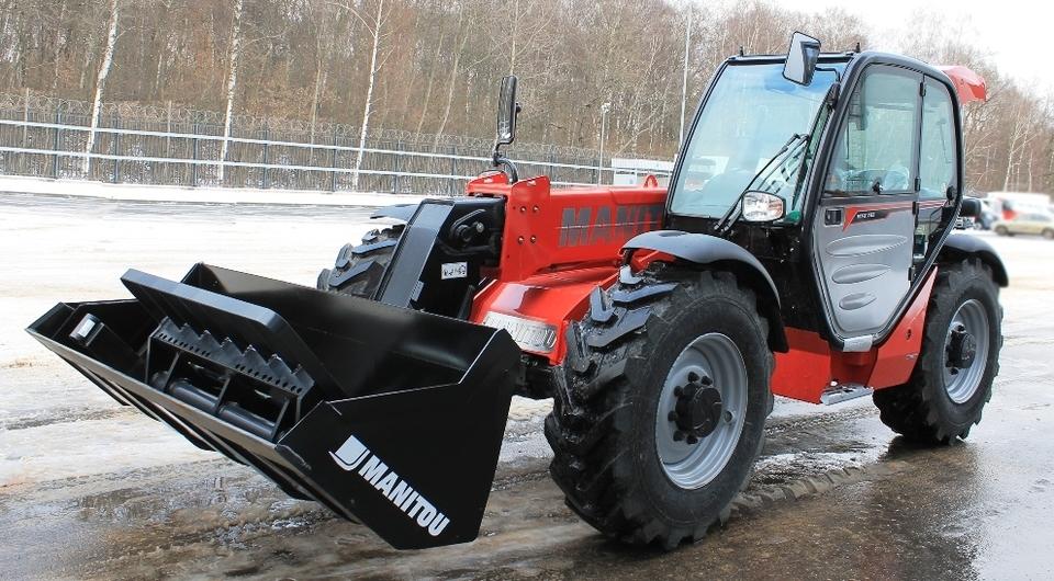 Старт российских продаж Manitou MT-X 733