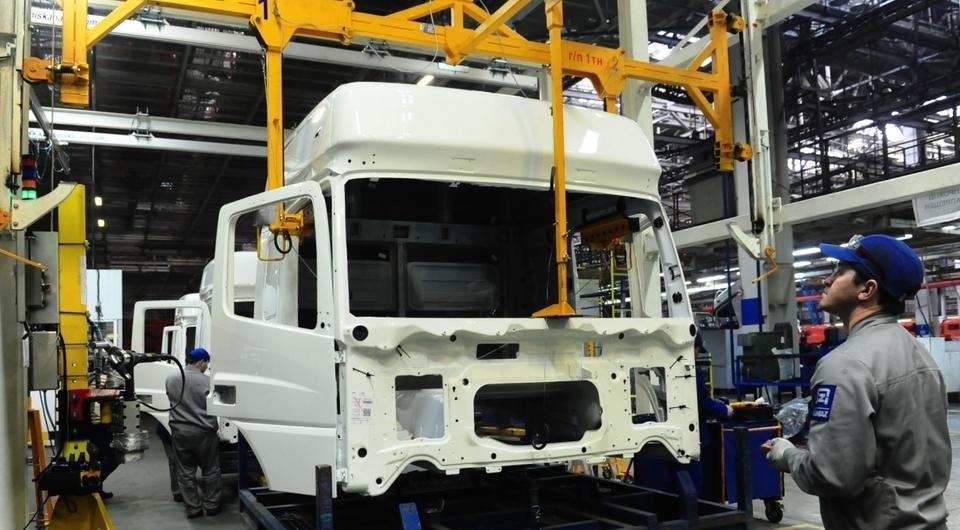КАМАЗ модернизировал конвейер кабин