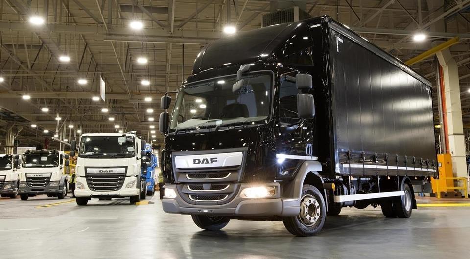 DAF с юбилейным кузовом собственного производства