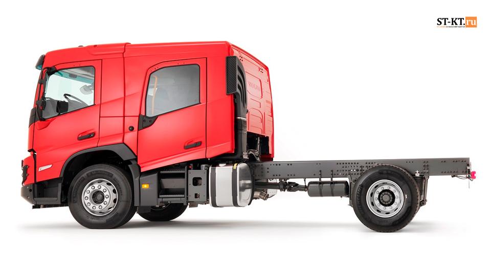 Новый Volvo FMX обзавелся двухрядной кабиной