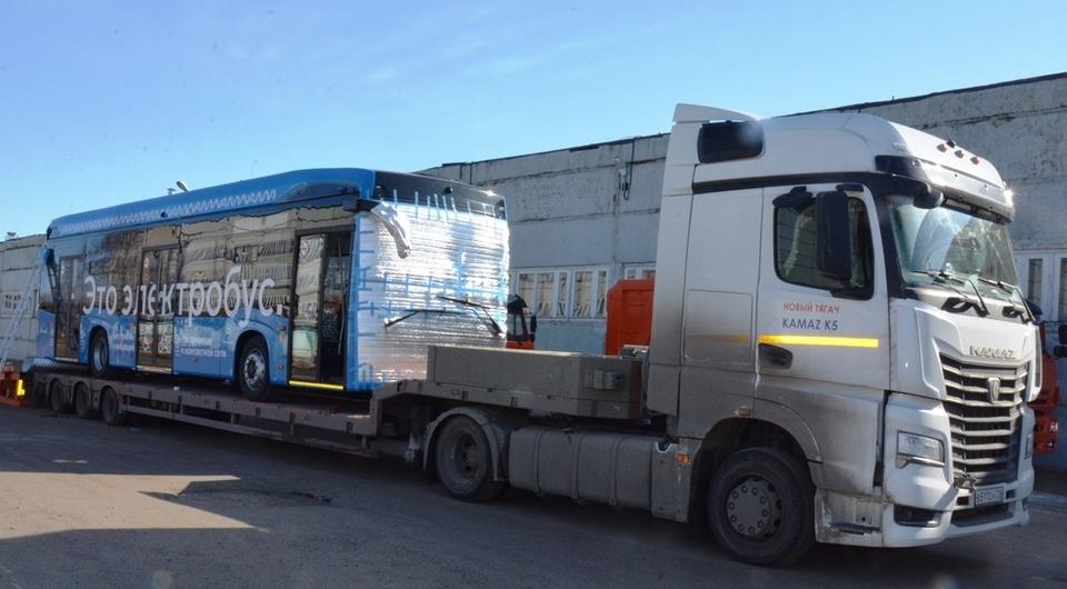 НЕФАЗ изготовил 250-й электробус КАМАЗ-6282