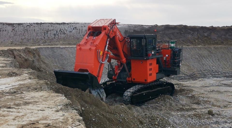 Hitachi EX2600E-6 в разрезе компании «Русский уголь»