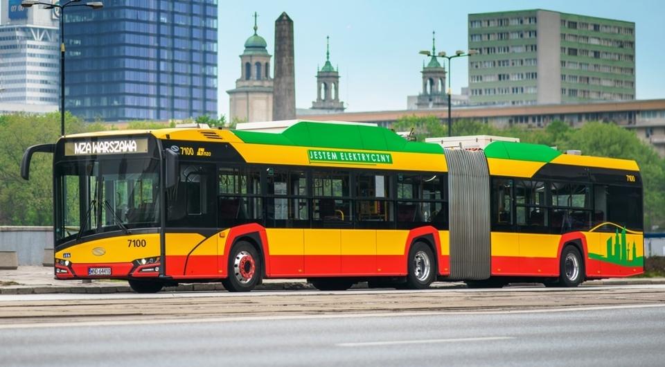 Solaris начал поставки электробусов в Варшаву
