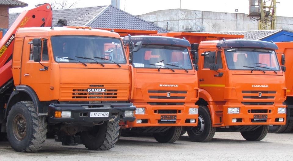 КАМАЗ стал лидером парка грузовиков в России