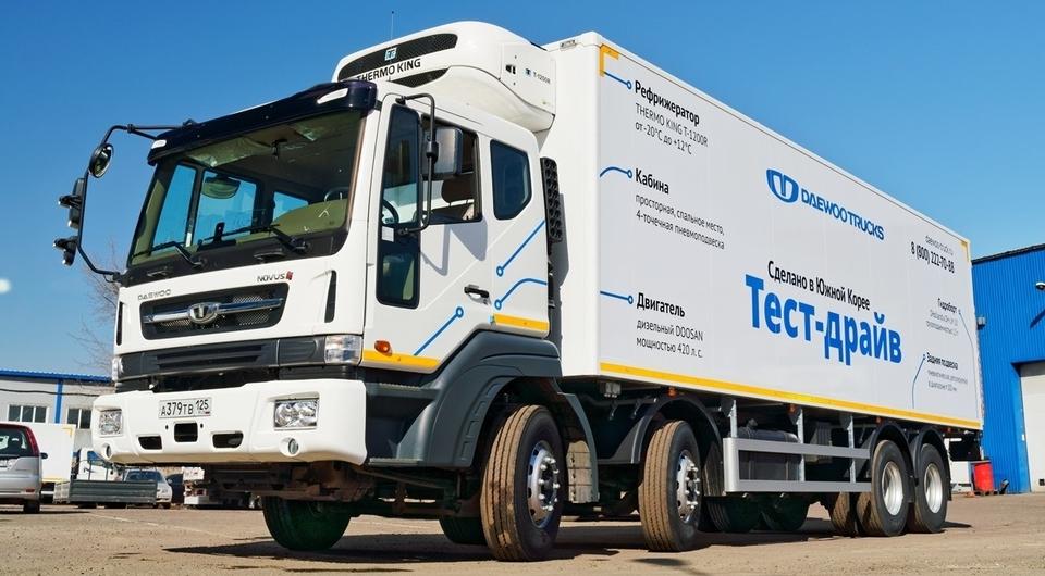 X5 Logistics тестирует суперрефрижератор Daewoo Novus