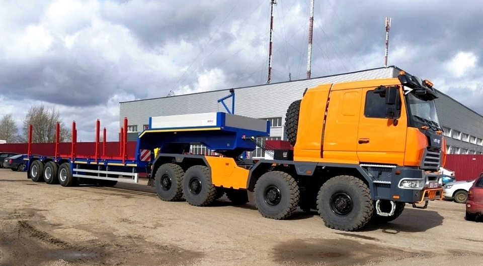 Минский четырехосный VOLAT для «Беларуснефти»