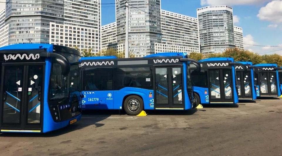КАМАЗ выполнил контракт на поставку автобусов в Москву